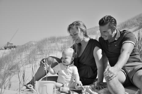 Familieshoot strand Paula Hesselink Fotografie